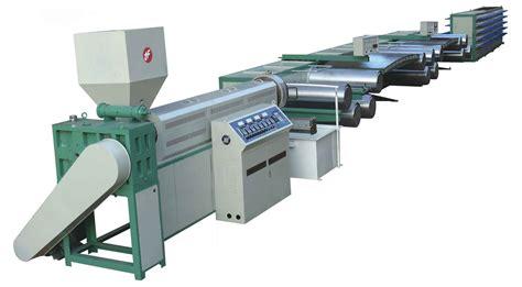 plastic machine woven bag machinery flat yarn machine from