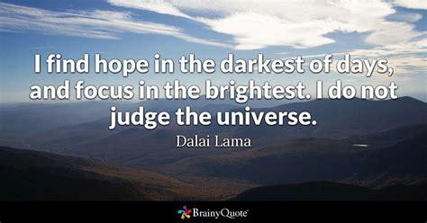 find hope   darkest  days  focus