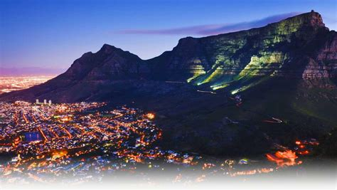 Table Mountain South Africa by The Heavenly Table Mountain Cape Town South Africa World For Travel