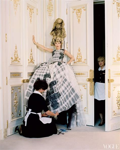 Fashion Photography: Kate Moss by Tim Walker for Vogue US