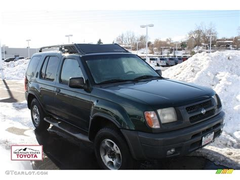 2000 alpine green metallic nissan xterra xe v6 4x4 58724563 gtcarlot car color galleries