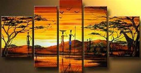 cuadros africa cuadros modernos cuadros modernos africanos