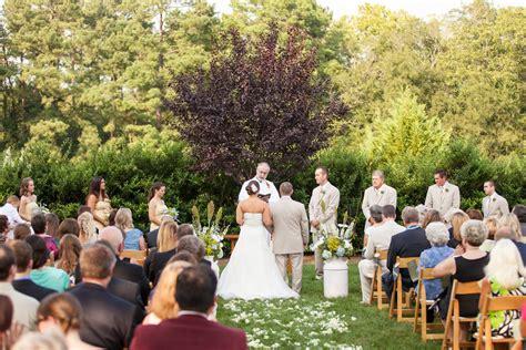 Wedding Ceremony Nuptials by Nuptials Preparing The Outdoor Wedding