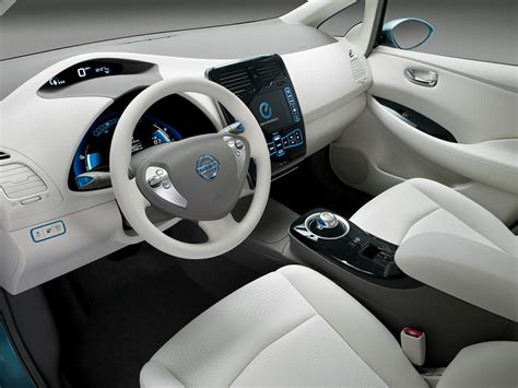 nissan leaf 2016 interior 2016 nissan leaf price photos reviews features