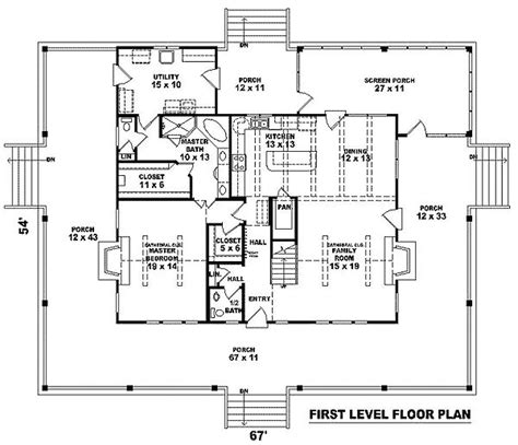 Country Farmhouse Floor Plans by Like So Much About This Plan W58304sv Southern Country