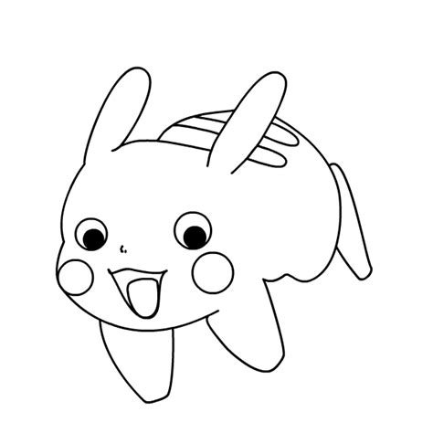 pokemon coloring pages pachirisu pikachu coloring pages online and pokemon pachirisu