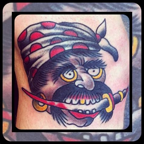 tattoo old school pirate old school pirate tattoo by forever true tattoo