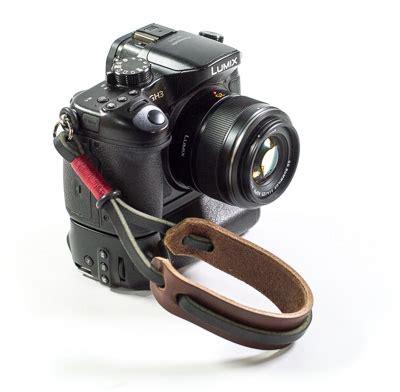 gordy's leather lug mount camera wrist strap boing boing