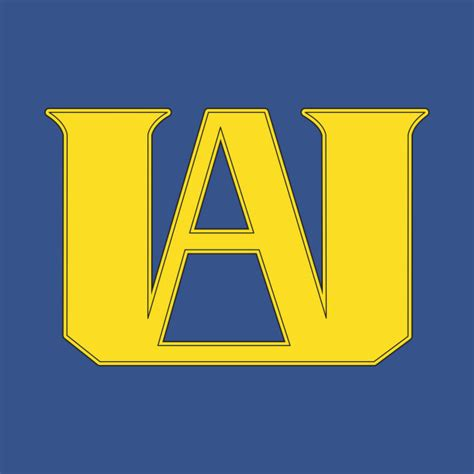 Tshirt Logo U A u a high school pocket logo boku no academia t