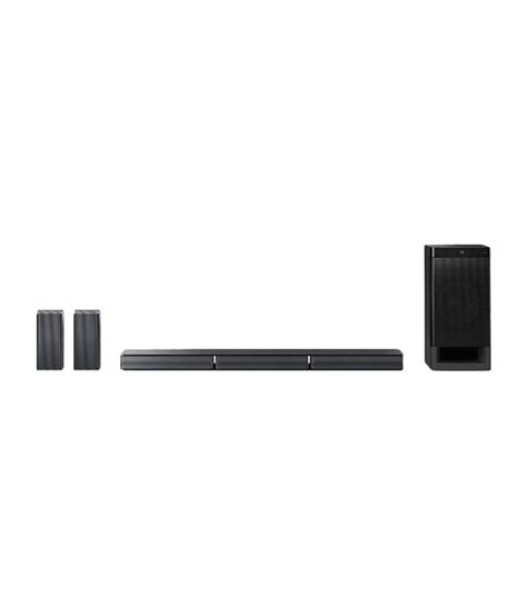 buy sony ht rt3 sound bar type home theatre system black