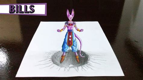 imagenes de dragonboll z en 3d desenhando bills de dragon ball z em 3d drawings bills