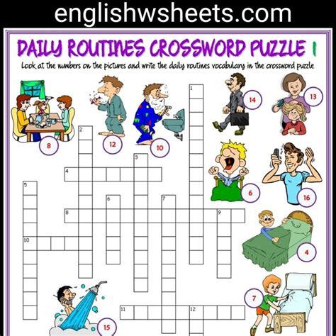 Daily Crossword Puzzle Printable
