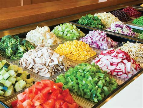 salad bar toppings enjoy a custom salad from our menu salata salad bar