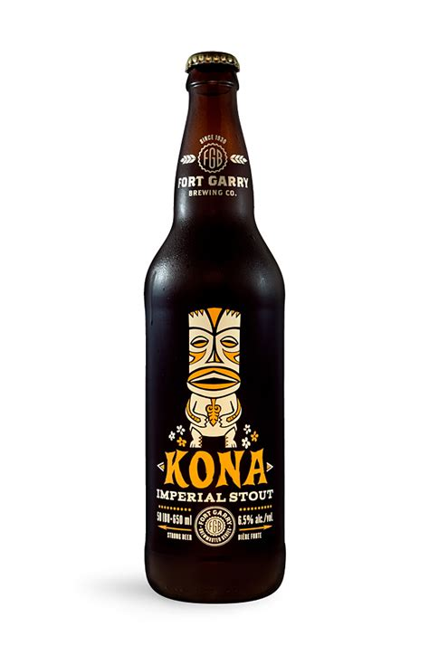 Fort Garry's Kona Imperial Stout   Oh Beautiful Beer