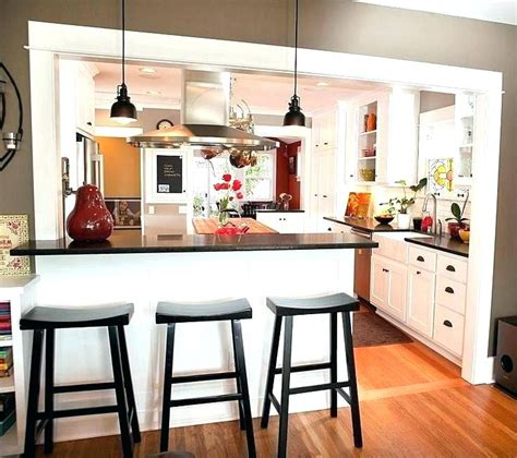 small open kitchen living room design