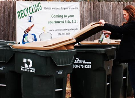 right to recycle expanding across texas public news service