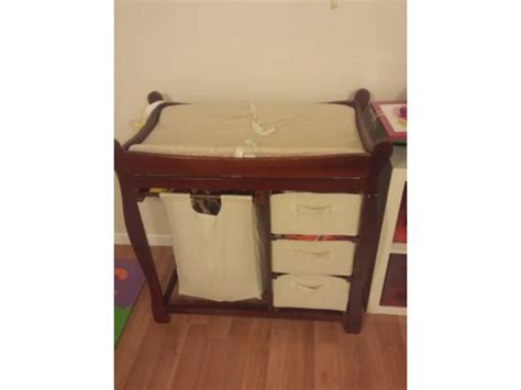 Baby Changing Table Solid Wood With Pad For Sale 45 Baby Changing Tables For Sale