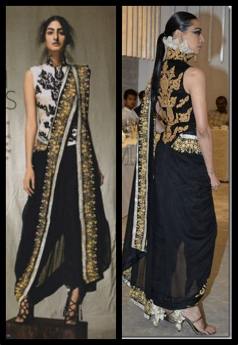saree drape 4 fancy saree draping styles from top fashion designers