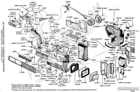 air conditioner parts diagram ford truck technical drawings and schematics section f