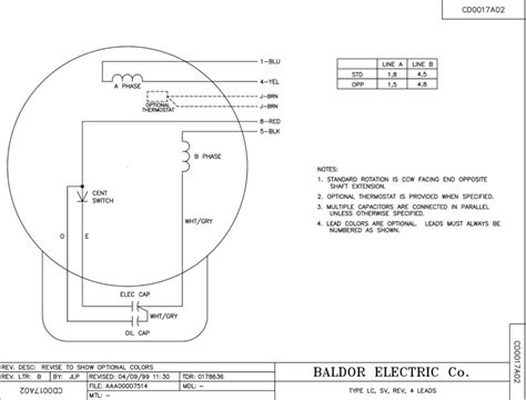 28 baldor motor wiring diagram single phase single