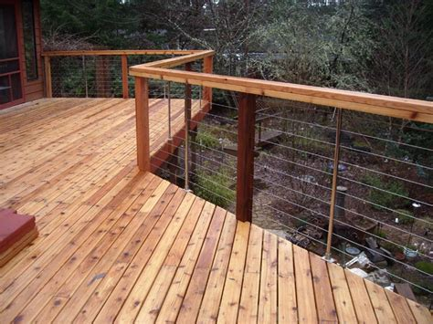Stainless Steel Deck Railing by Accessories For Cable Railing Systems Stainless Cable