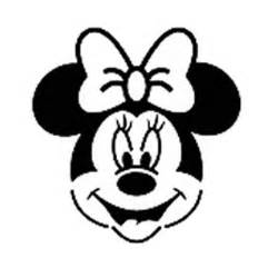 minnie mouse template for pumpkin carving minnie mouse stencil clipart best