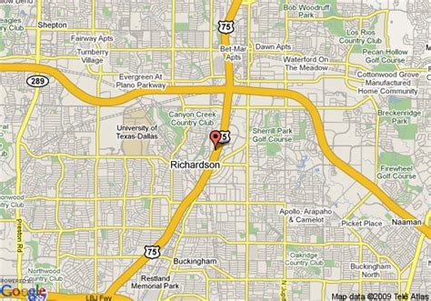 map richardson texas map of hyatt summerfield suites dallas richardson richardson
