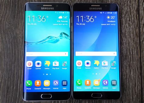 Samsung S6 Dan Note 4 galaxy note 5 vs galaxy s6 edge what s the difference