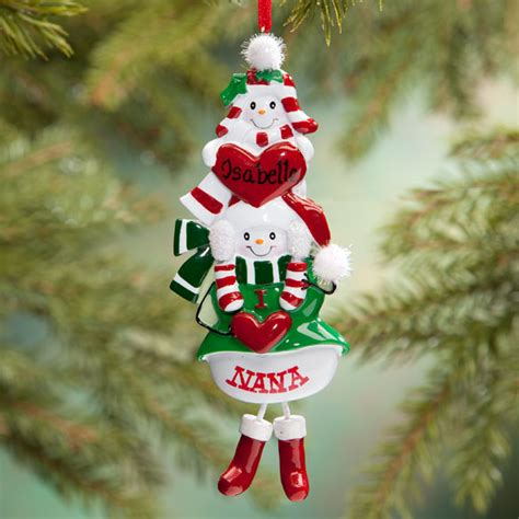 personalized i love nana ornament christmas ornament