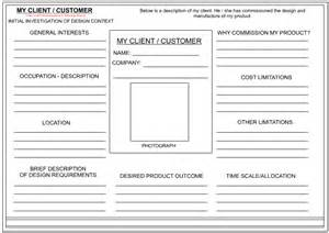 customer profile sheet template client customer profile sheet
