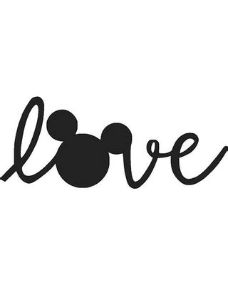 amazing cyber week deals on love mickey mouse vinyl decal