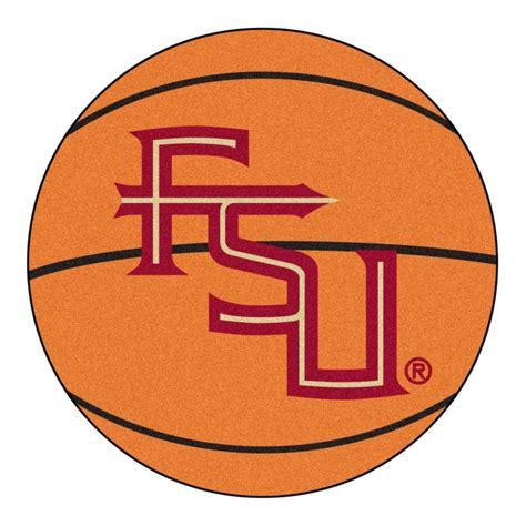 fsu rug fanmats ncaa florida state fsu logo orange 2 ft 3 in x 2 ft 3 in accent rug