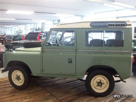 1970 toyota land rover 1970 land rover series ii information and photos momentcar