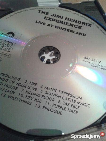Kaset Jimi Handrix Experience the jimi experience live at winterland cd 87