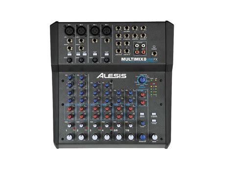 alesis multimix alesis multimix 8 usb fx 8 channel mixer