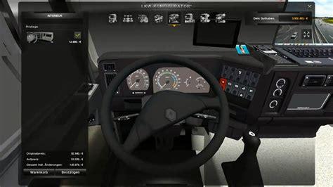 renault truck interior renault premium 1997 interior addons modhub us
