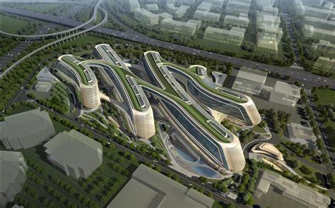 Amazing Home Design 2015 Expo design sky soho in shanghai china by zaha hadid architects