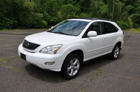 Lexus Rx330 Gas Mileage by Sell Used Lexus Rx330 Suv Awd No Reserve