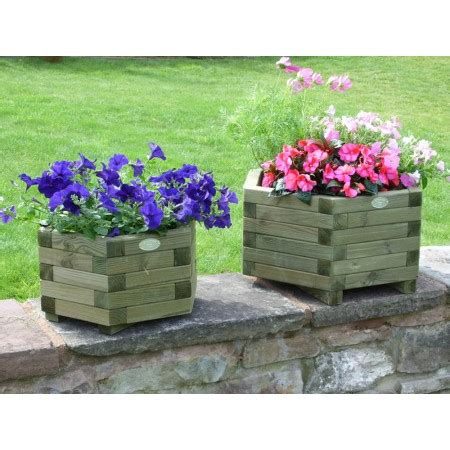 hexagonal planter timber products