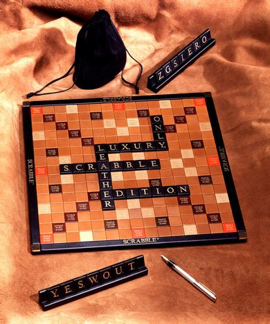 luxury scrabble set luxury leather scrabble set meltons