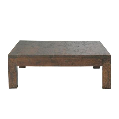 Solid Coffee Table Solid Mango Wood Coffee Table W 100cm Bengali Maisons Du Monde