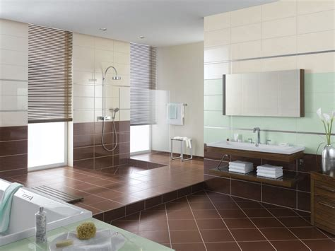 awesome brown accents tiles flooring decoration for large