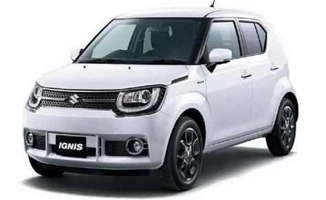 Suzuki India Maruti Suzuki Ignis India Price Review Images Maruti