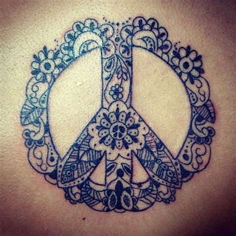 paisley pattern tattoo meaning peacesign paisley blackandwhite tattoo want this one so
