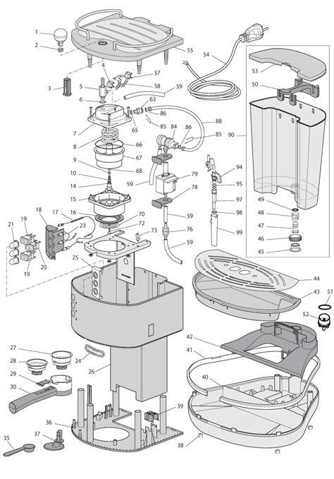 Coffee Cup No Handle by Delonghi Eco 310 Icona Spare Parts