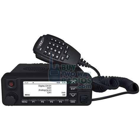mobile radio announcing the tytera md 9600 dmr digital mobile radio