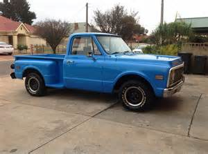 1971 chevrolet c10 stepside 350 300hp automatic sold