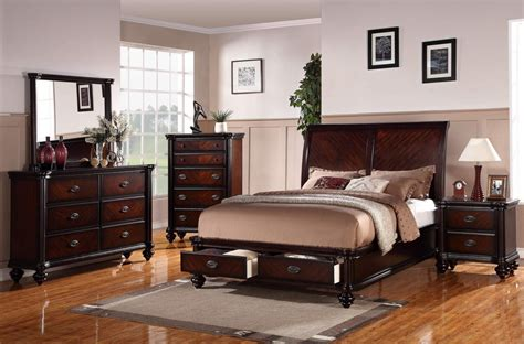 bedroom sets with drawers under bed rustic bedroom set features queen size platform bed with