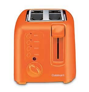 Kmix Toaster 4 Slice Orange Toaster
