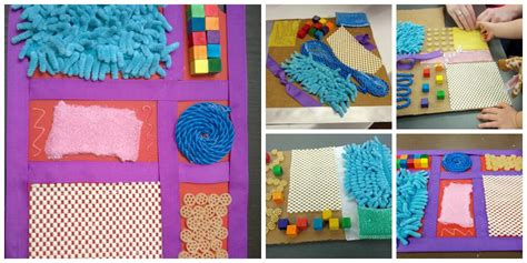 Easy Crafts To Make For Your Room - diy sensory boards for babies
